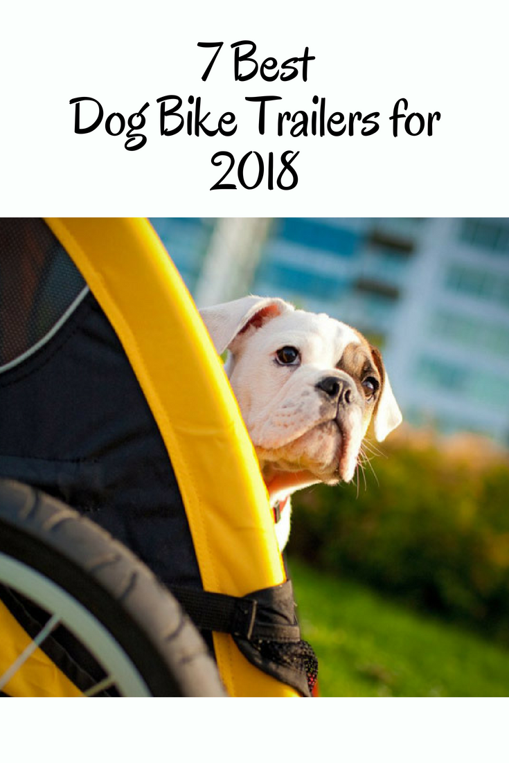 7 Best Dog Bike Trailers for 2018. Taking your furry friend along on your bike ride is now a breeze! #BestDogBikeTrailers #DogBikeTrailers #Dog