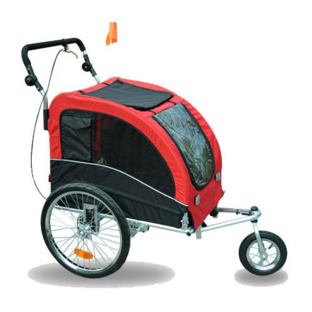 Aosom Elite Ii Bike Trailer Dog Stroller
