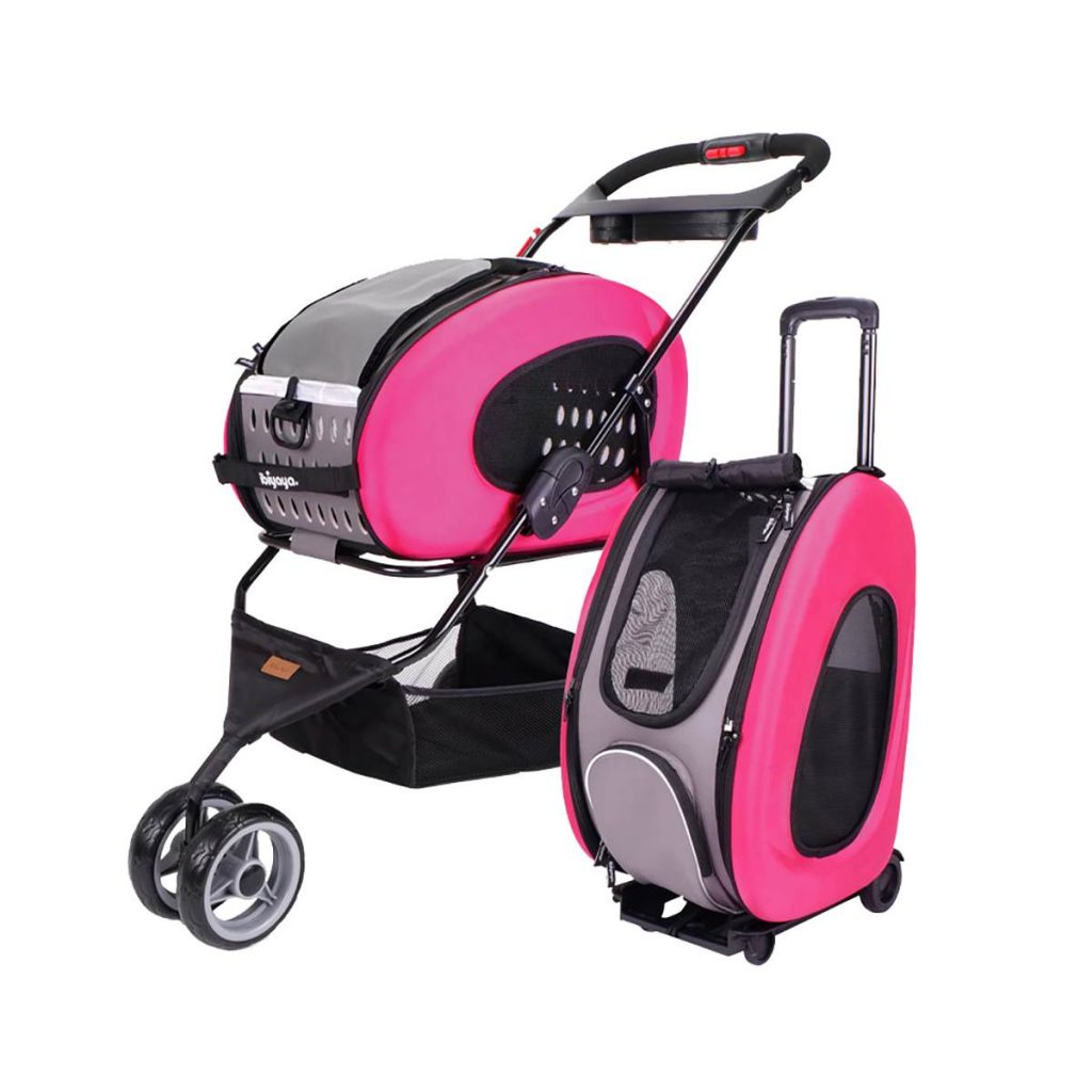Ibiyaya All-in-one Multifunction Pet stroller